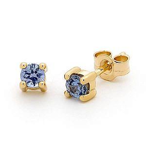 Ceylon sapphire earrings