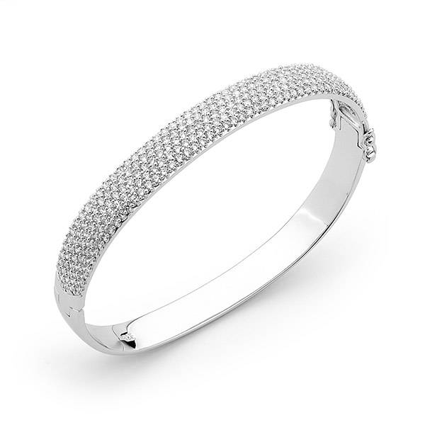 Ellani cubic zirconia bangle