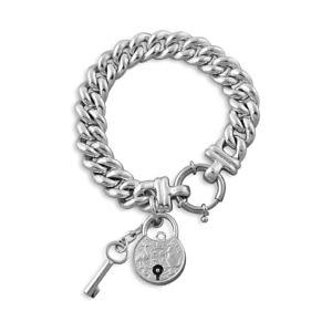 Von Treskow Australian padlock belcher bracelet