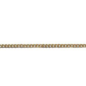 Diamond cut curb chain