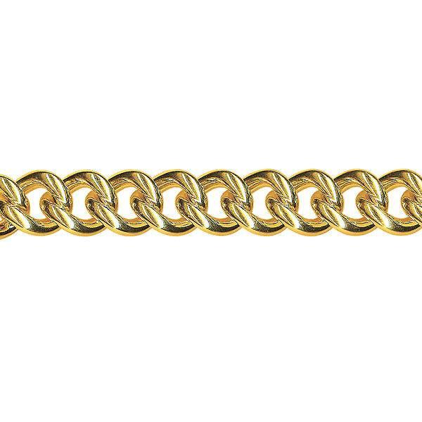 Round curb chain