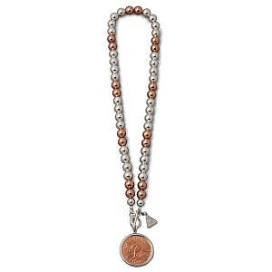 Von Treskow ball necklace with penny