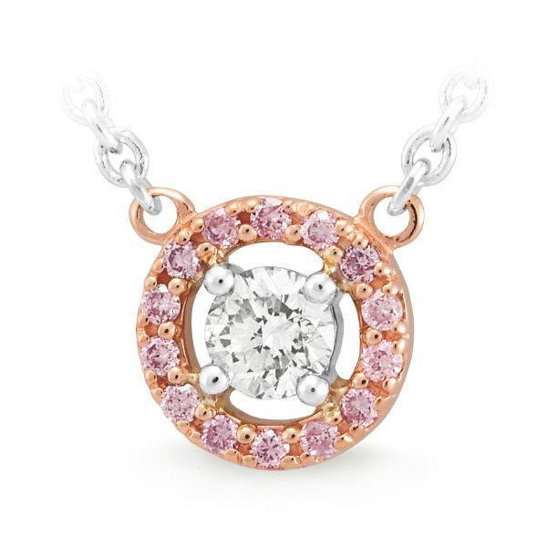Pink diamond collection pendant