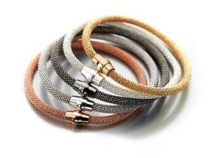 Sterling silver Glint bracelets