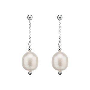 Najo pearl drop earrings