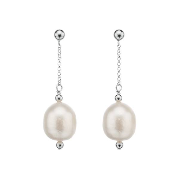 Najo pearl drop earrings