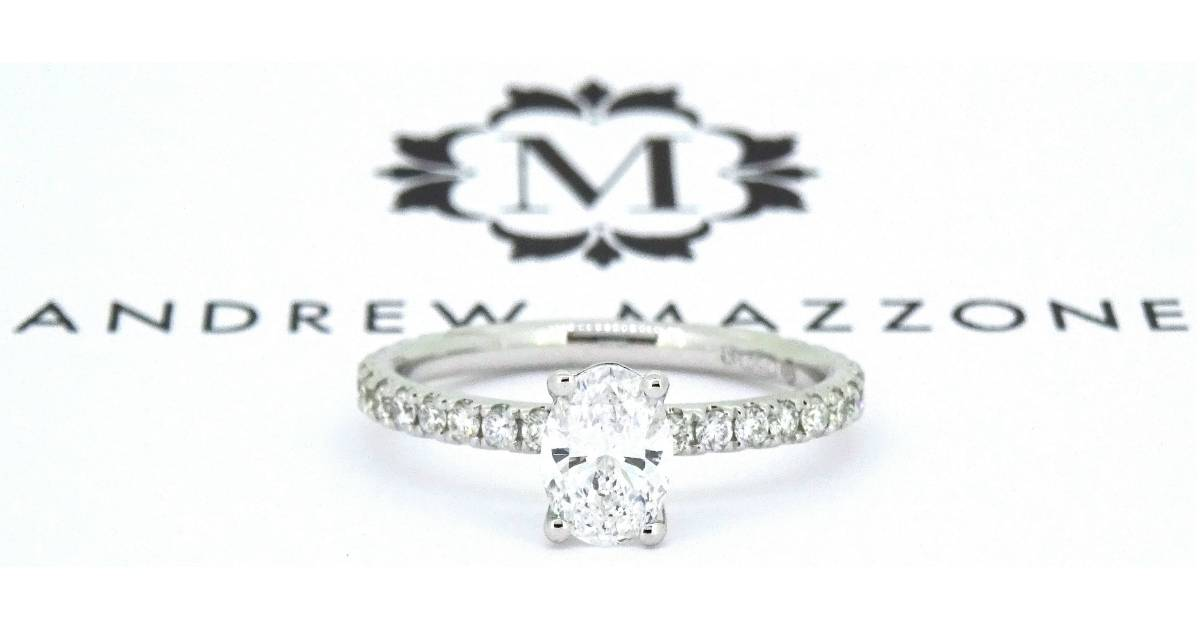 Customer love – Tim and Marianna's custom engagement ring