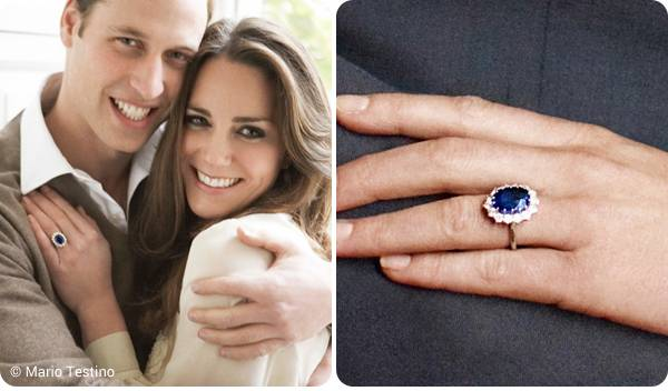 Kate & William sapphire ring