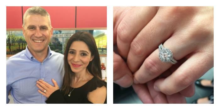 Andrew Mazzone engagement ring