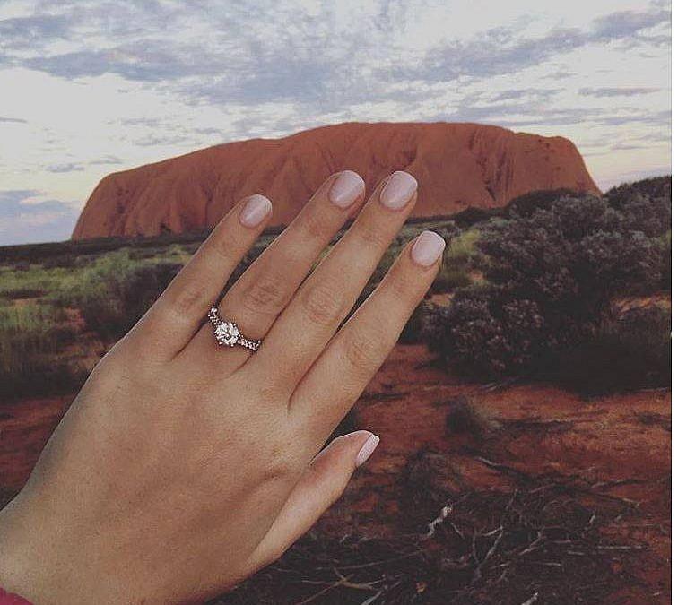 Ashleigh's engagement ring