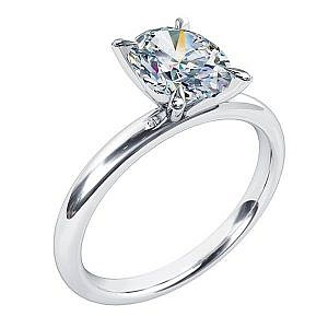 Mazzone oval cut diamond ring