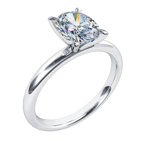 Andrew Mazzone oval cut diamond ring