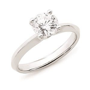 Andrew Mazzone solitaire diamond ring