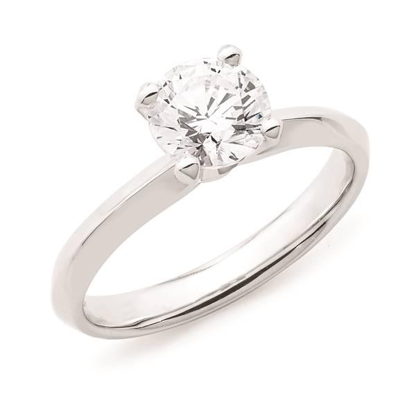 Andrew Mazzone solitaire diamond ring