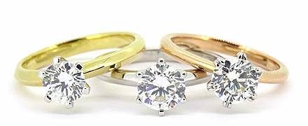 Andrew Mazzone Solitaire Rings