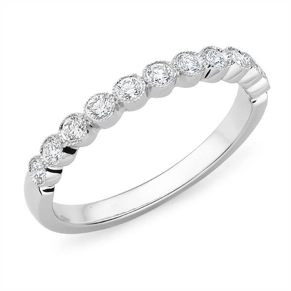 Mazzone brilliant cut diamond wedding ring