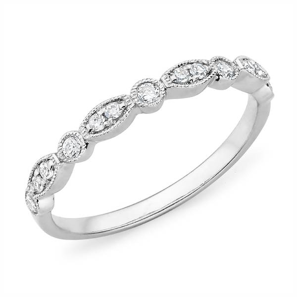Mazzone fancy diamond wedding rin