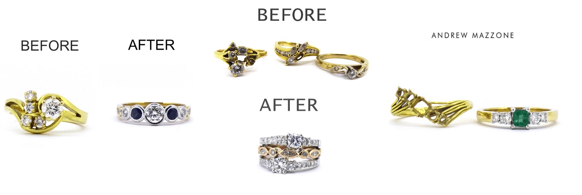 Andrew Mazzone Jewellery Remodel