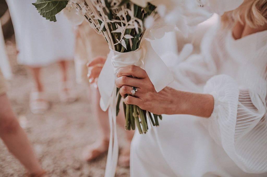 Sapphire & Diamond Wedding Ring